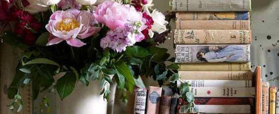 Books & blooms